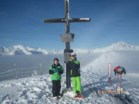Fanningberghöhe  oben Nebelmeer
