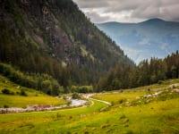 Aussicht im Habachtal