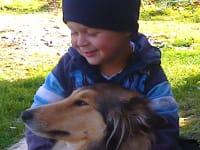 Stefan mit  unserer Hündin Lucy