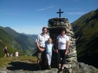 Wanderung im Hollersbachtal Richtung Stoamandl