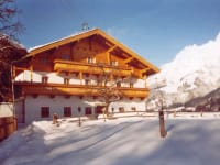 Unser Hof im Winter