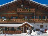 unser Millinghof mit Schnee