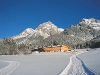 Liebmannhof im Winter
