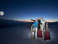 Nachtrodeln auf der längsten Rodelbahn der Welt