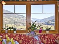 Blick vom Restaurant ins Salzachtal