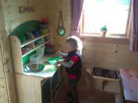 Kinderspielhaus innen