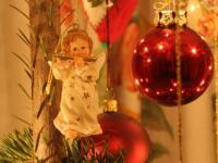 Ein Detail vom Christbaum - wir leben unsere Tradition