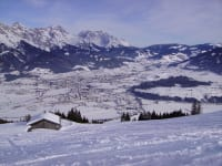 Winterrodelbahn am Biberg