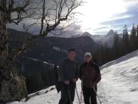 Winterwanderung Maria und Sepp