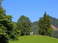 Aussicht auf Kapelle