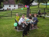 Grillparty - immer ein Höhepunkt für die Kinder