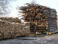 Holz für unsere Hackschnitzel