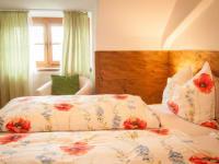 Schlafzimmer im Zehna Stüberl