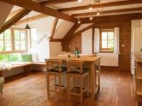 Gemütliche Wohnküche mit sagenhaftem Ausblick