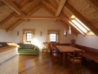 Wohnküche in der Naturparkwohnung