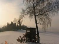 romantische Winterlandschaft