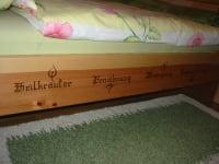 Ferienwohnung Brennessel - Schlafzimmer nach Kneipp