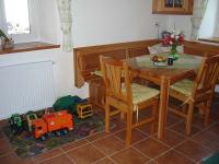 Sitzecke in der Ferienwohnung Brennessel