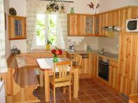 Küche in der Ferienwohnung  Brennessel