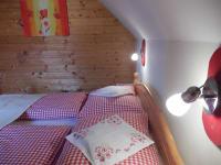 Schlafzimmer Himbeerwohnung