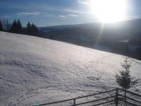 Winter , mit Blick auf den Zirbitz
