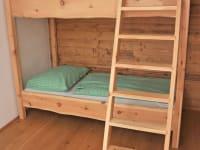 Stockbett im Gwölb-Apartment für die Kids
