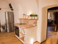 Küche im Erdgeschoß