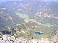 Blick vom Grießstein ins Triebental