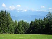 Aussicht auf Seckauer Alpen u. Aichfeld