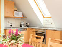 Küche der Wohnung Sunn-Seitn