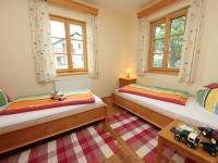Schlafzimmer 2 der Ebenerdigen Ferienwohnung