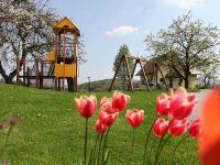 Spielpaltz im Frühling