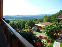 Ferienwohnung Aussicht Seitenbalkon