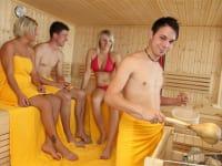 Sauna für kalte Tage