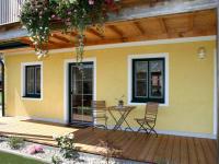 Entspannen auf der einladenden Terrasse