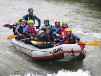 Rafting auf der Enns