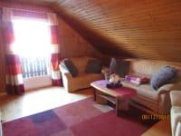 Wohnzimmer in der Ferienwohnung