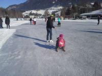Eislaufen am Putterersee