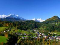 Das kleine Dorf Gams