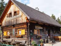 die bewirtschaftete Hütte