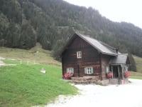 die romantische Hütte