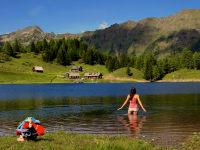 Schwimmen im Duisitzkarsee
