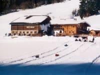 Snowtubing auf der Rösteralm