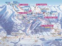 Übersichtsplan Skigebiet DIE TAUPLITZ