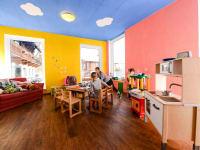Das farbenfrohe Spielzimmer