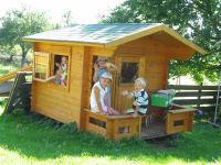 ein eigenes Haus für die Kinder