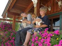 Kinder mit Hunden