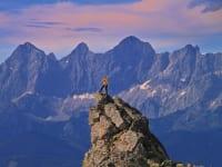Auf unseren Bergen geht es hoch hinaus