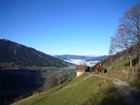 Zufahrt zur Hütte