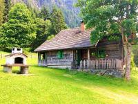 Hütte mit Griller